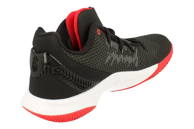 Nike Kyrie Flytrap 2 Mens Basketball Trainers Ao4436  016 - Black White University Red 016 - Photo 2