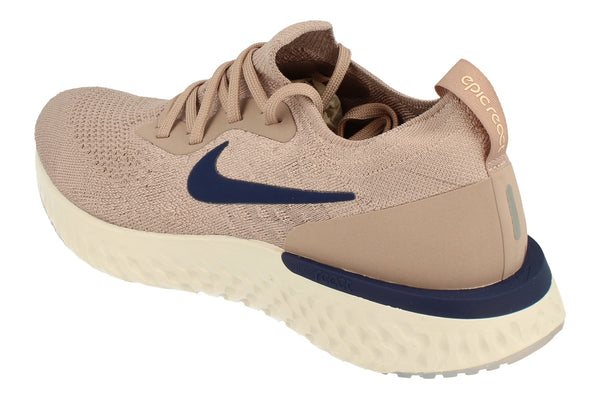 Nike Mens Epic React Flyknit Aq0067  201 - Diffused Taupe Blue Void 201 - Photo 0