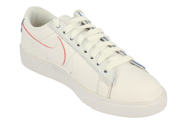 Nike Blazer Lo We Womens Trainers At5252  100 - White White White 100 - Photo 0