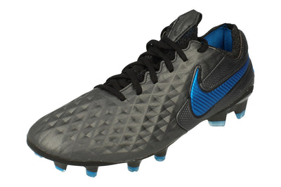 Nike Legend 8 Elite FG Mens Football Boots At5293  004 - Black Blue Hero 004 - Photo 0