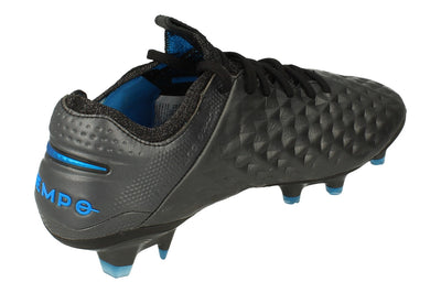 Nike Legend 8 Elite FG Mens Football Boots At5293  004 - Black Blue Hero 004 - Photo 2