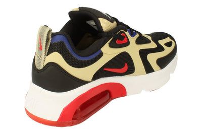 Nike Air Max 200 GS At5627  700 - Team Gold University Red Black 700 - Photo 2