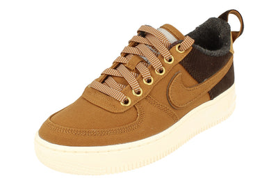 Nike Air Force 1 PRM Wip GS Trainers Av3524  200 - Ale Brown Sail 200 - Photo 0