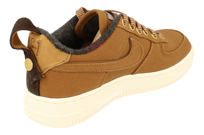 Nike Air Force 1 PRM Wip GS Trainers Av3524  200 - Ale Brown Sail 200 - Photo 2