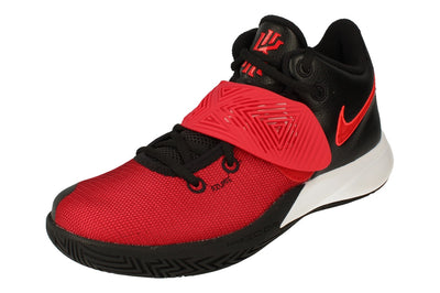 Nike Kyrie Flytrap III Mens Basketball Trainers BQ3060  009 - Black University Red 009 - Photo 0