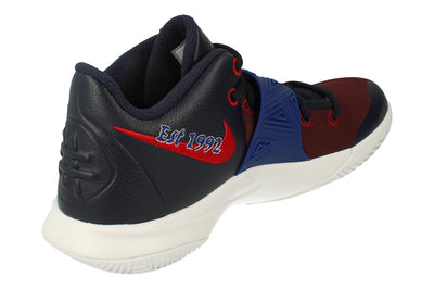 Nike Kyrie Flytrap III Mens Basketball Trainers Bq3060  400 - Obsidian Deep Royal Blue 400 - Photo 2