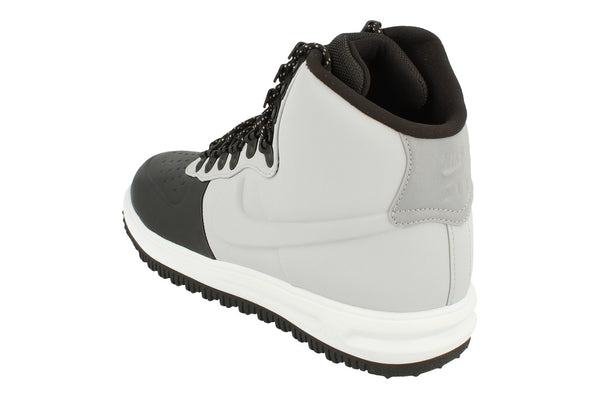 Nike Lunar Force 1 Duckboot 18 Mens Trainers Bq7930  002 - Black Wolf Grey Pure Platinum 002 - Photo 0