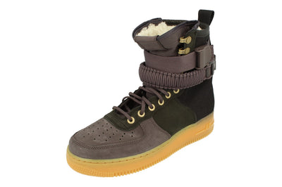 Nike Sf Af1 PRM Mens Hi Top Trainers Bv0130  001 - Black Grey 001 - Photo 0