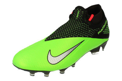 Nike Phantom Vsn 2 Elite Df FG Mens Football Boots Cd4161  036 - Black Metallic Platinum 036 - Photo 0