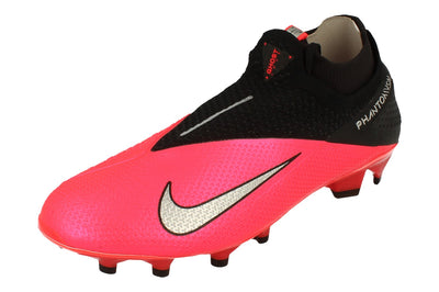 Nike Phantom Vsn 2 Elite Df FG Mens Football Boots Cd4161  606 - Laser Crimson Metallic Crimson 606 - Photo 0