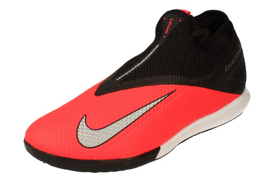 Nike Phantom Vsn 2 Academy Df IC Mens Football Boots Cd4168 Trainers Shoes  606 - Laser Crimson Metallic Silver 606 - Photo 0