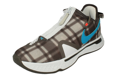 Nike Pg 4 Mens Basketball Trainers Cd5079  002 - Football Grey Laer Blue 002 - Photo 0
