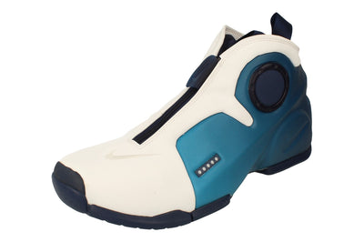 Nike Air Flightposite 2 Mens Hi Top Basketball Trainers Cd7399  100 - White Midnight Blue 100 - Photo 0