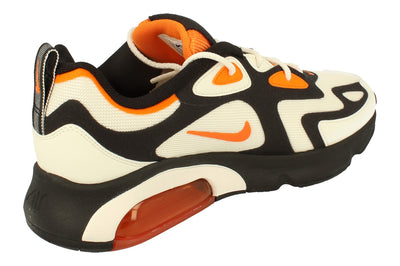 Nike Air Max 200 Mens Ci3865 004 - Black Magma Orange Sail 004 - Photo 2