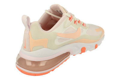Nike Air Max 270 React Womens Cj0619 103 - Summit White Crimson Tint 103 - Photo 2