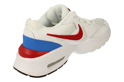 Nike Air Max Fusion Mens Cj1670 100 - White Gym Red Blue 100 - Photo 2