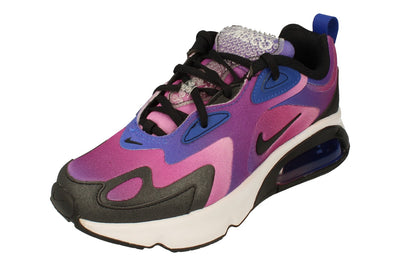 Nike Womens Air Max 200 Se Ck2596  400 - Hyper Blue White Vivid Purple 400 - Photo 0
