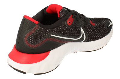 Nike Renew Run Mens Ck6357 005 - Black White University Red 005 - Photo 2