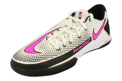 Nike React Phantom Gt Pro IC Mens Football Boots Ck8463 Soccer Shoes  160 - White Pink Black 160 - Photo 0