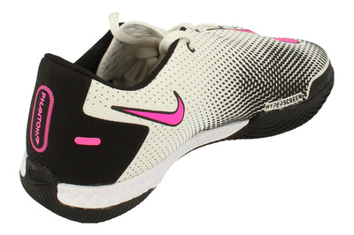 Nike React Phantom Gt Pro IC Mens Football Boots Ck8463 Soccer Shoes  160 - White Pink Black 160 - Photo 2