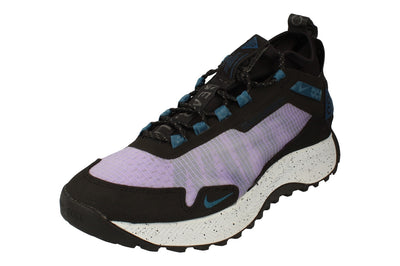 Nike Acg Zoom Terra Zaherra Mens Hi Top Trainers Cq0076 Sneakers Boots  500 - Space Purple Blue Force Black 500 - Photo 0