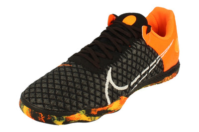 Nike Reactgato Mens Football Boots Ct0550 Trainers Shoes  018 - Black White Total Orange 018 - Photo 0
