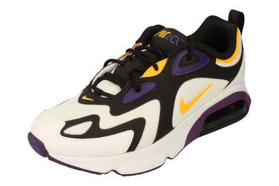 Nike Air Max 200 Mens Ct1262  102 - White Laser Orange Eggplant 102 - Photo 0