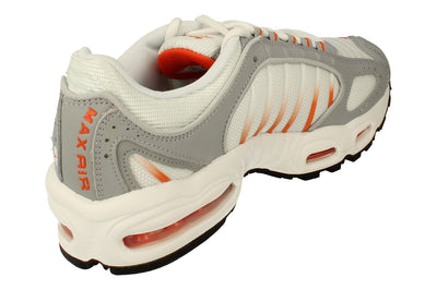 Nike Air Max Tailwind IV Mens Ct1267  100 - White Orange Blaze Wolf Grey 100 - Photo 2