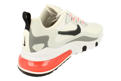 Nike Air Max 270 React Mens Ct1280  100 - White Black Flash Crimson 100 - Photo 2