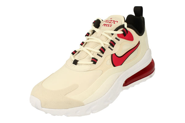 Nike Air Max 270 React Mens Ct1280  102 - Light Orewood Beown Cardinal Red 102 - Photo 0