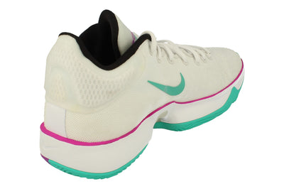 Nike Zoom Rize 2 Mens Basketball Trainers Ct1495  100 - Summit White Hyper Violet 100 - Photo 2