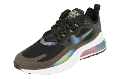 Nike Air Max 270 React 20 Mens Ct5064  001 - Dark Smoke Grey Multi Colour 001 - Photo 0