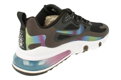 Nike Air Max 270 React 20 Mens Ct5064  001 - Dark Smoke Grey Multi Colour 001 - Photo 2