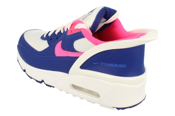 Nike Air Max 90 Flyease GS Cv0526  101 - White Hyper Pink White 101 - Photo 0