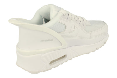 Nike Air Max 90 Flyease GS Cv0526 102 - White White White 102 - Photo 2