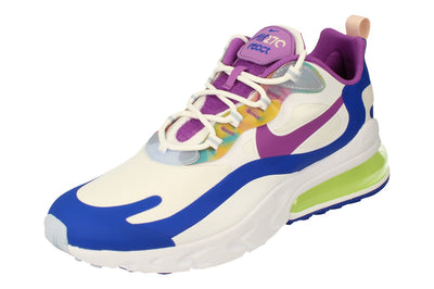 Nike Air Max 270 React Easter Mens Cw0630  100 - White Purple Nebula 100 - Photo 0
