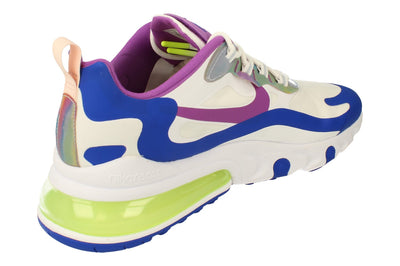 Nike Air Max 270 React Easter Mens Cw0630  100 - White Purple Nebula 100 - Photo 2