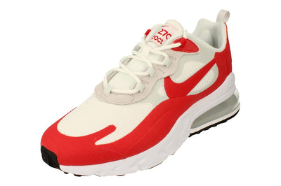 Nike Air Max 270 React Mens Cw2625  100 - White University Red 100 - Photo 0