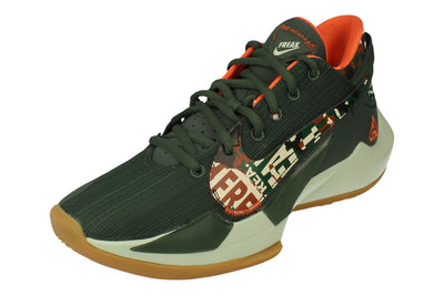 Nike Zoom Freak 2 Mens Basketball Trainers Dc9853  300 - Vintage Green Pistachio Frost 300 - Photo 0