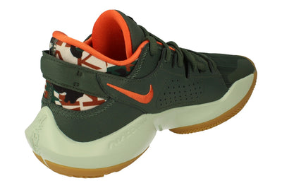 Nike Zoom Freak 2 Mens Basketball Trainers Dc9853  300 - Vintage Green Pistachio Frost 300 - Photo 2