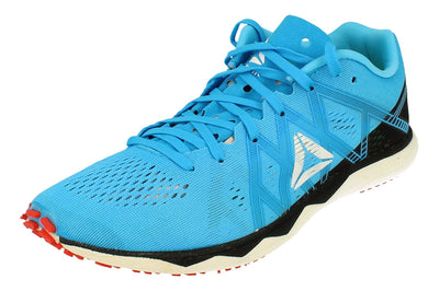 Reebok Floatride Run Fast Pro Unisex Sneakers  6793 - Black Cyan Red White Dv6793 - Photo 0