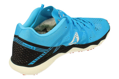 Reebok Floatride Run Fast Pro Unisex Sneakers  6793 - Black Cyan Red White Dv6793 - Photo 2