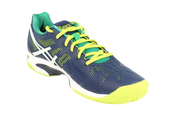 Asics Gel-Solution Speed 2 Clay Mens Tennis Shoes E601N Sneakers Trainers 5001 - KicksWorldwide