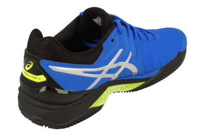 Asics Gel-Resolution 7 Clay Mens Tennis Shoes E702Y 407 - Illusion Blue Silver 407 - Photo 2