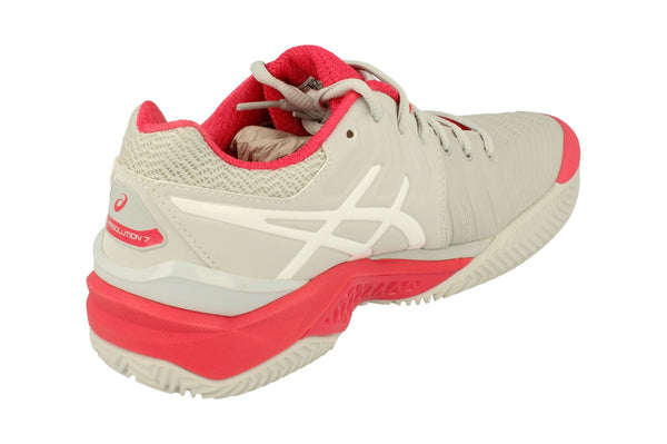 Asics Gel-Resolution 7 Clay Womens Tennis Shoes E752Y Sneakers Trainers 9601 - KicksWorldwide
