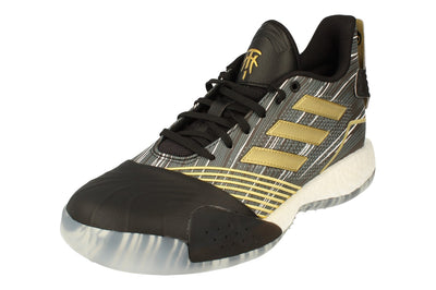 Adidas Tmac Millenium Mens Basketball Trainers Sneakers  EE3678 - Core Black Metallic Gold Ee3678 - Photo 0