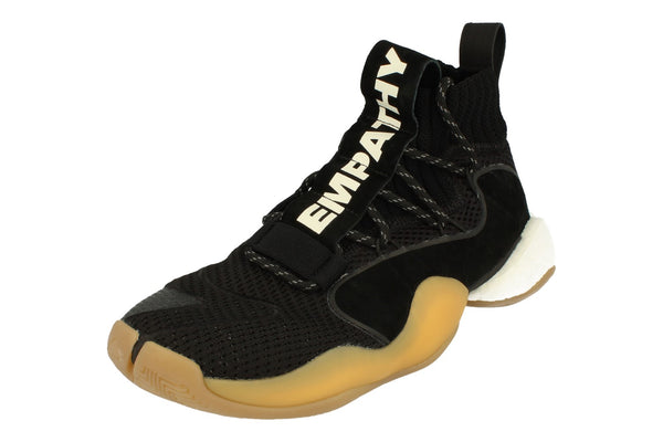 Adidas Pw Crazy Byw Prd Mens Basketball Trainers Sneakers   - Black Gum Eg7733 - Photo 0