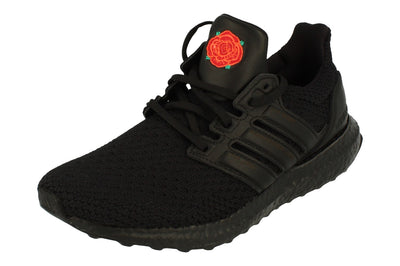 Adidas Ultraboost X Manchester United Fc Mens Trainers Sneakers EG8088  - Black Red Eg8088 - Photo 0