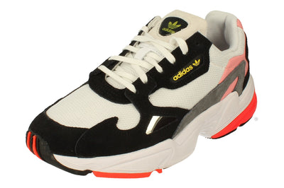 Adidas Falcon Womens Sneakers   - White Black Pink Fv8259 - Photo 0