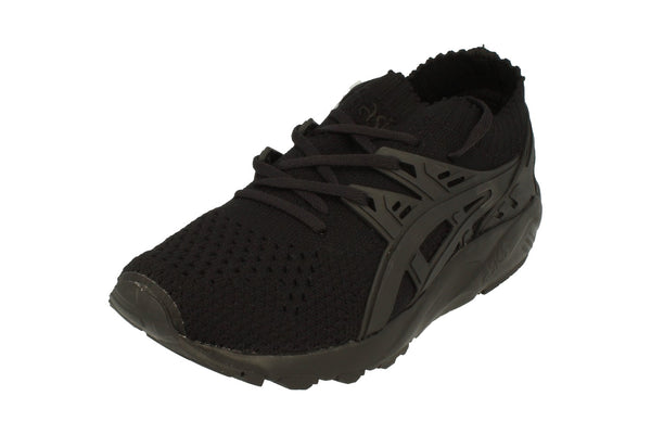 Asics Gel-Kayano Trainer Knit Mens H705N  9090 - Black Black 9090 - Photo 0